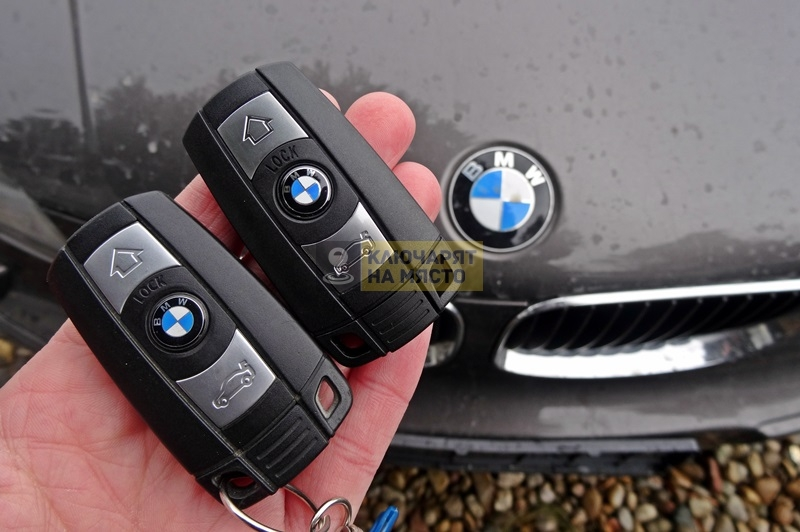Ключ за BMW 1 Изработка