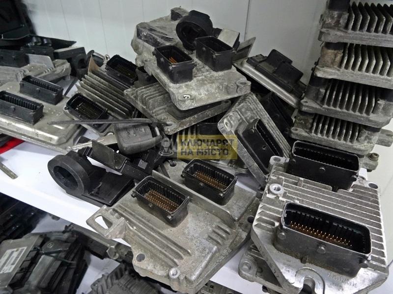 Смяна на моторен компютър на Opel Astra G