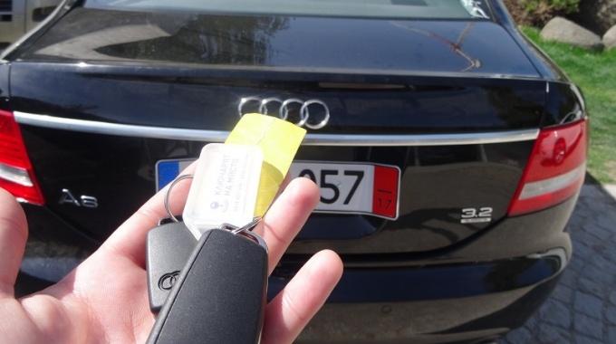 Ключ за Audi A6 4F Изработка
