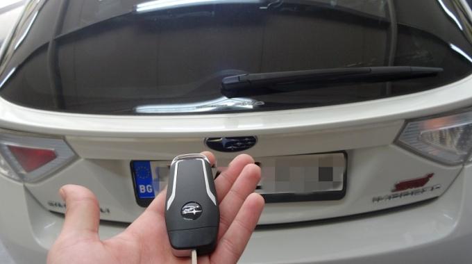 Втори ключ с дистанционно за Subaru Impreza