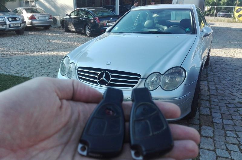Ключ за Mercedes CLK W209 Изработка