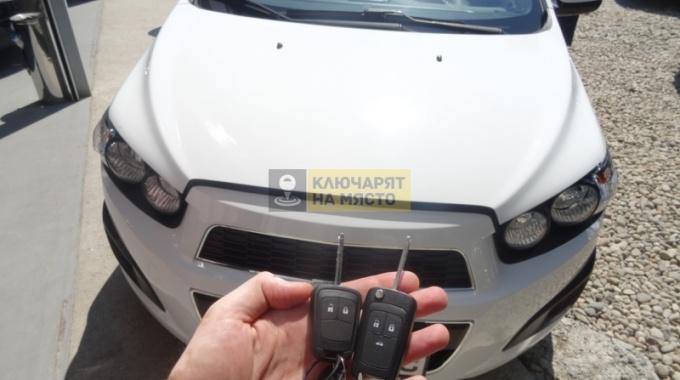 Ключ за Chevrolet Aveo 2010 Дубликат