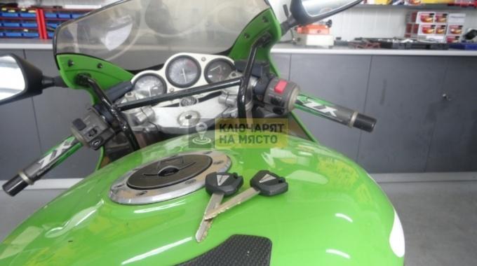 Ключ за Kawasaki Ninja ZX-9R 1998 Изработка