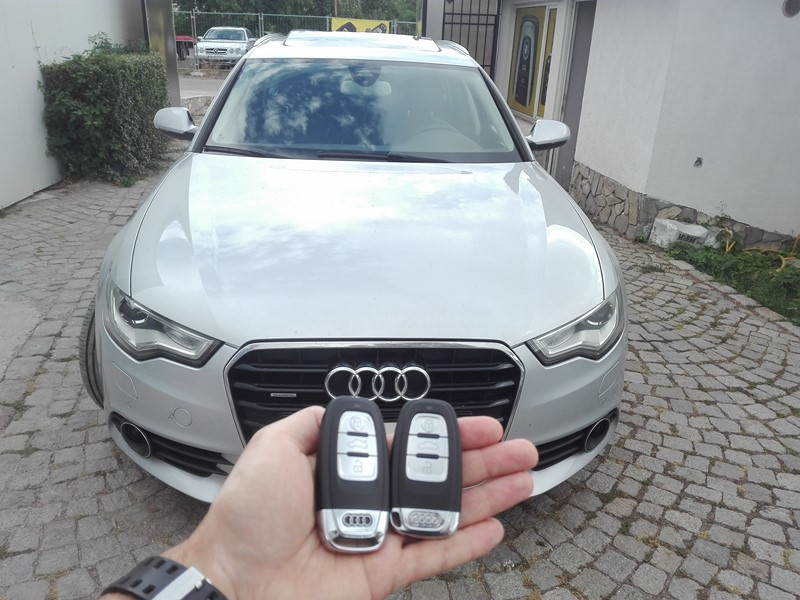 Ключ за Audi A6 2011г – Изработка на дубликат