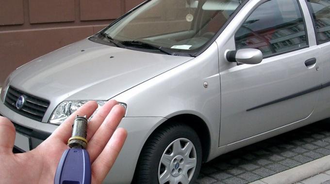 Fiat Punto – Изгубен ключ