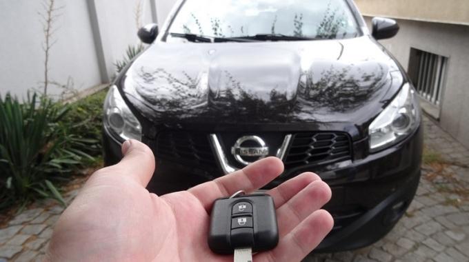 Резервен ключ с дистанционно за Nissan Qashqai