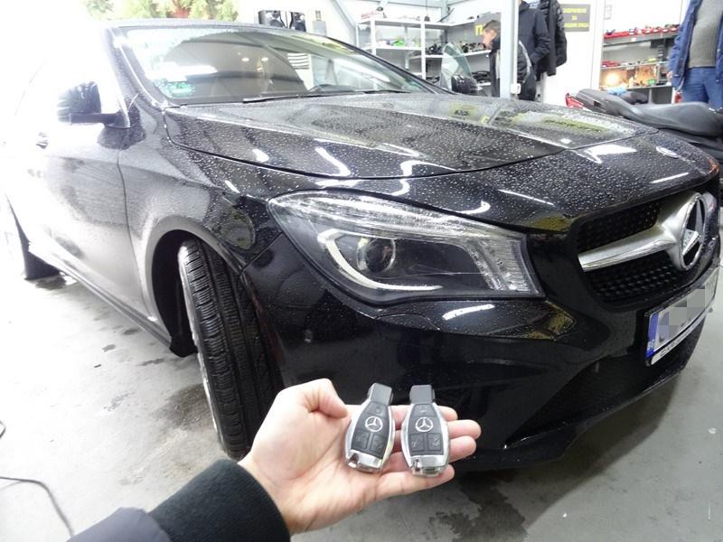 Ключ за Mercedes CLA – Изработка на дубликат