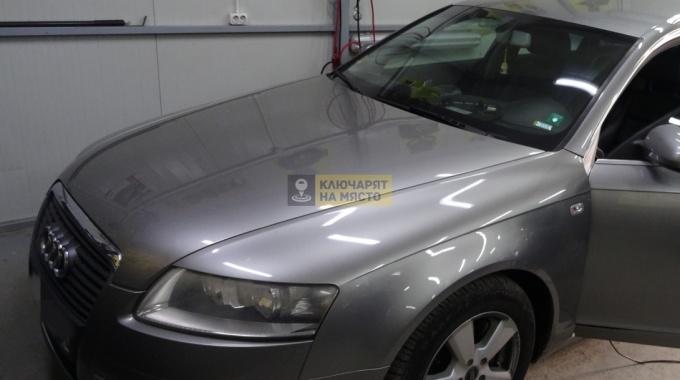 Заключване на волана – Audi A6