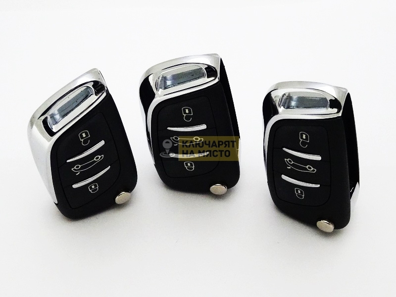 Универсален ключ UK01 за Citroen 433 Mhz