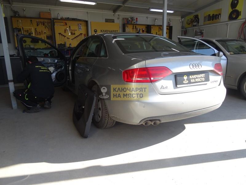 Ремонт брава на Audi A4 B8 2011