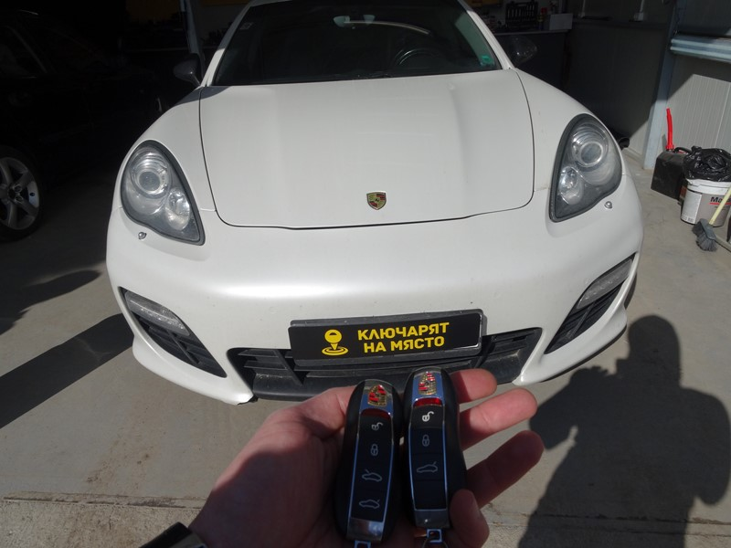 Ключ за Porsche Panamera 2012 – Изработка на дубликат