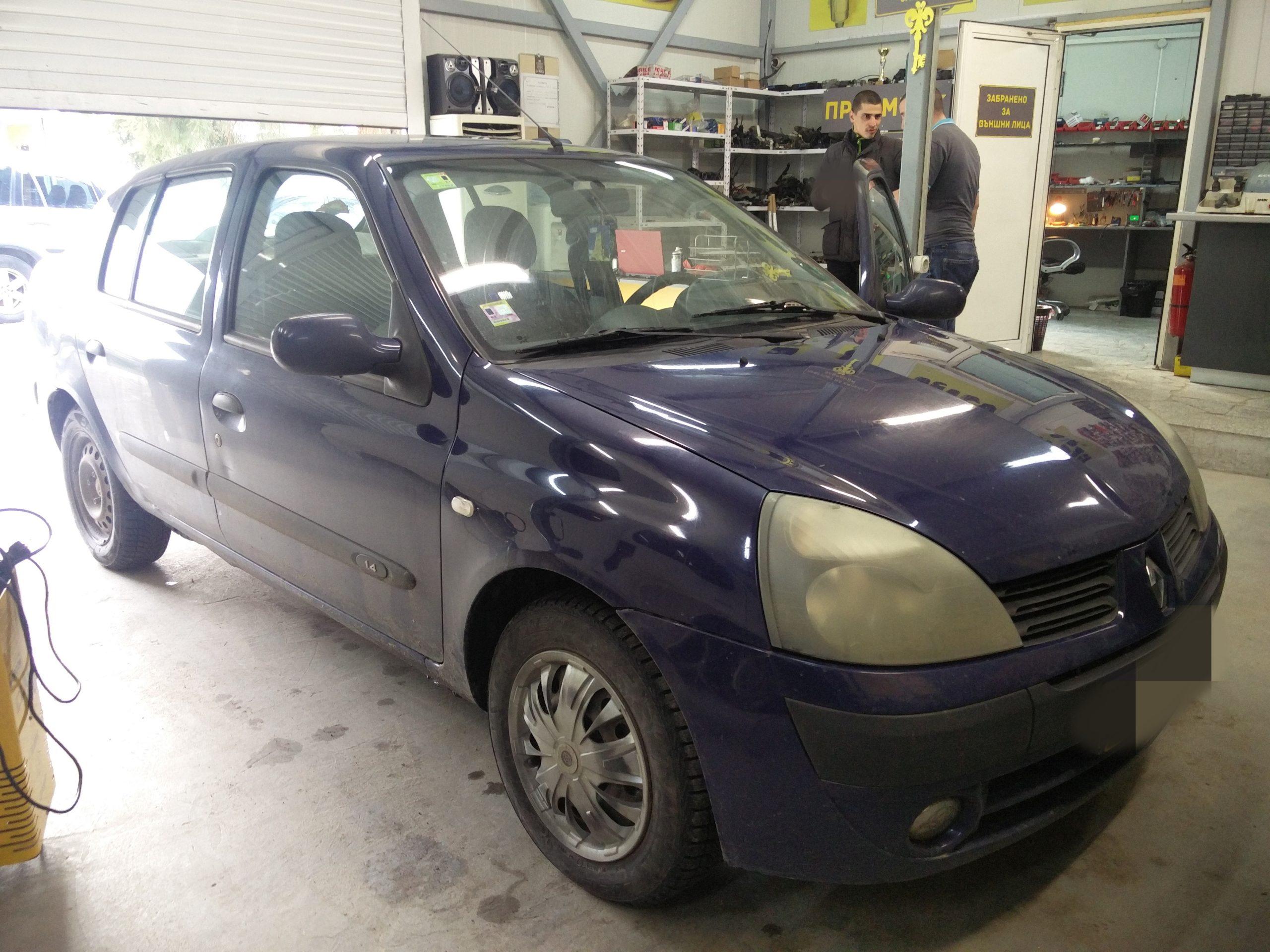 Ремонт патрон на стартер Renault Clio