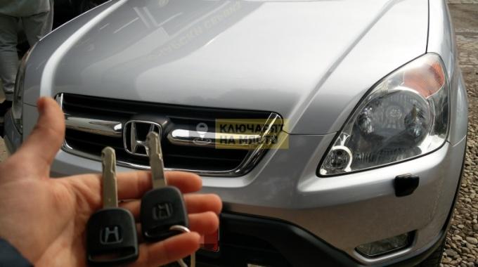 Изработка на втори ключ за Honda CR-V