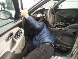Смяна на EWS модул на Rover 75