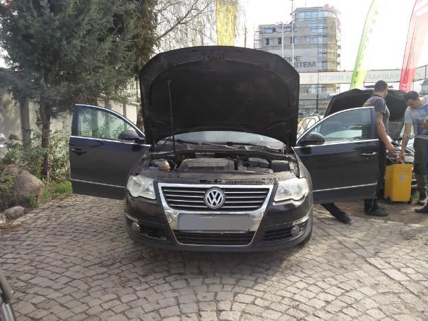 Премахване на заключване на волан при VW Passat