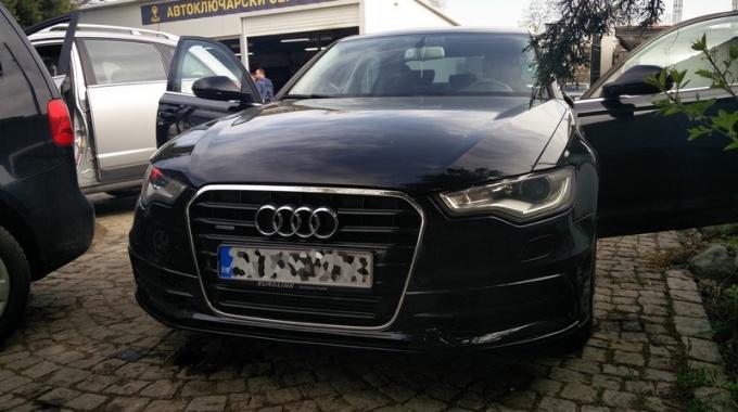 Изработка на нов ключ за Audi S6