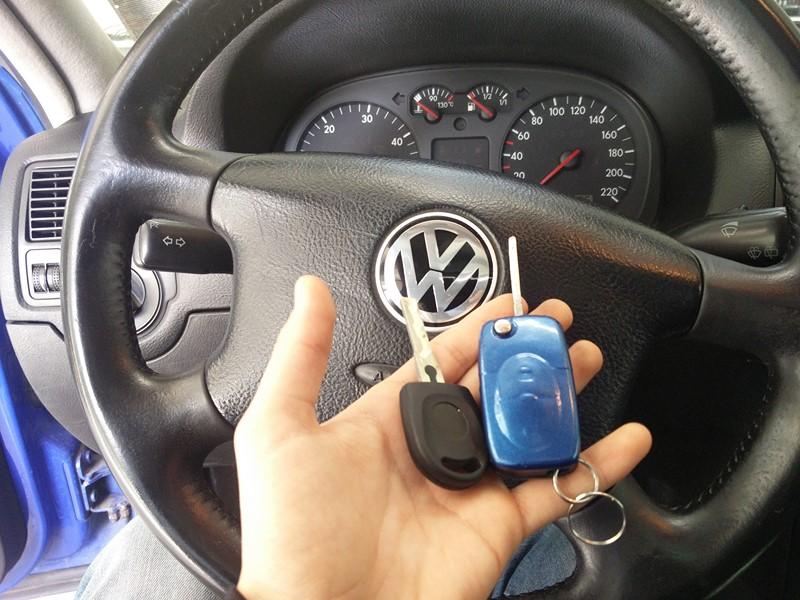 Изработка на нов ключ за VW Golf 4