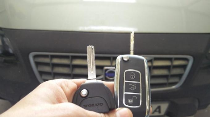 Изработка на ключ за Volvo XC70