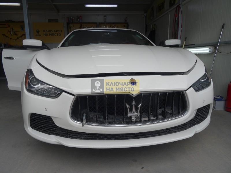 Ремонт кабелна инсталация на Maserati Ghibli 2017