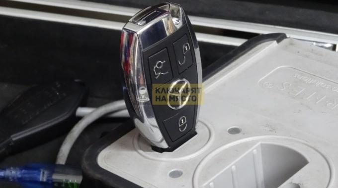 Ключ за Мерцедес Е класа W210 2001