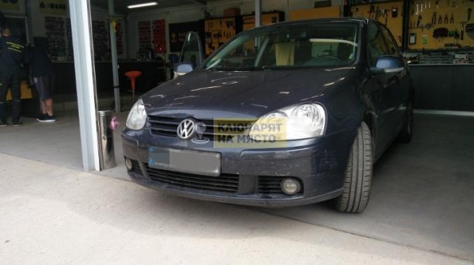 Смяна брави на VW GOLF 5