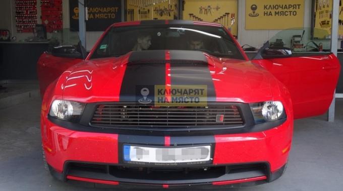 Ключ за Форд Мустанг 2012