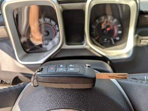 Изработка на втори ключ за Chevrolet Camaro 2013