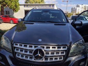 Изработка на втори ключ за Mercedes ML 2009